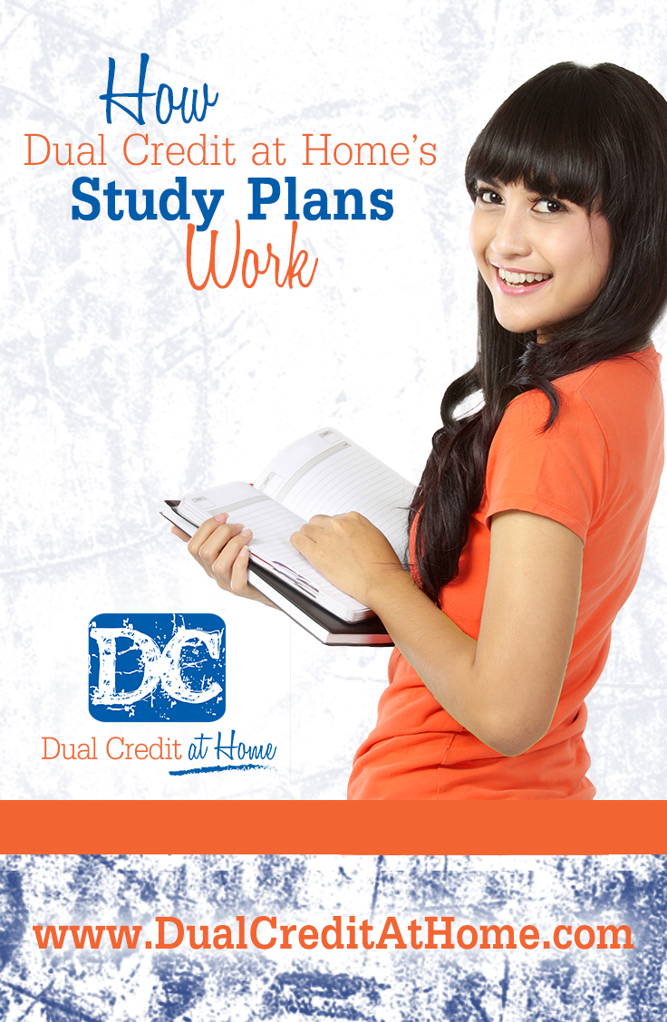 How Dual Credit at Home's Study Plans Work!