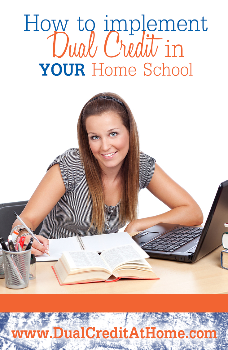 Ways to Implement Dual Credit in YOUR Home School