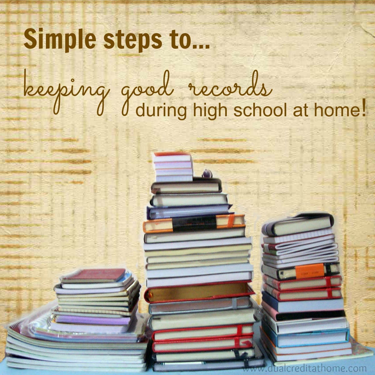 How to Keep Good Records During High School at Home