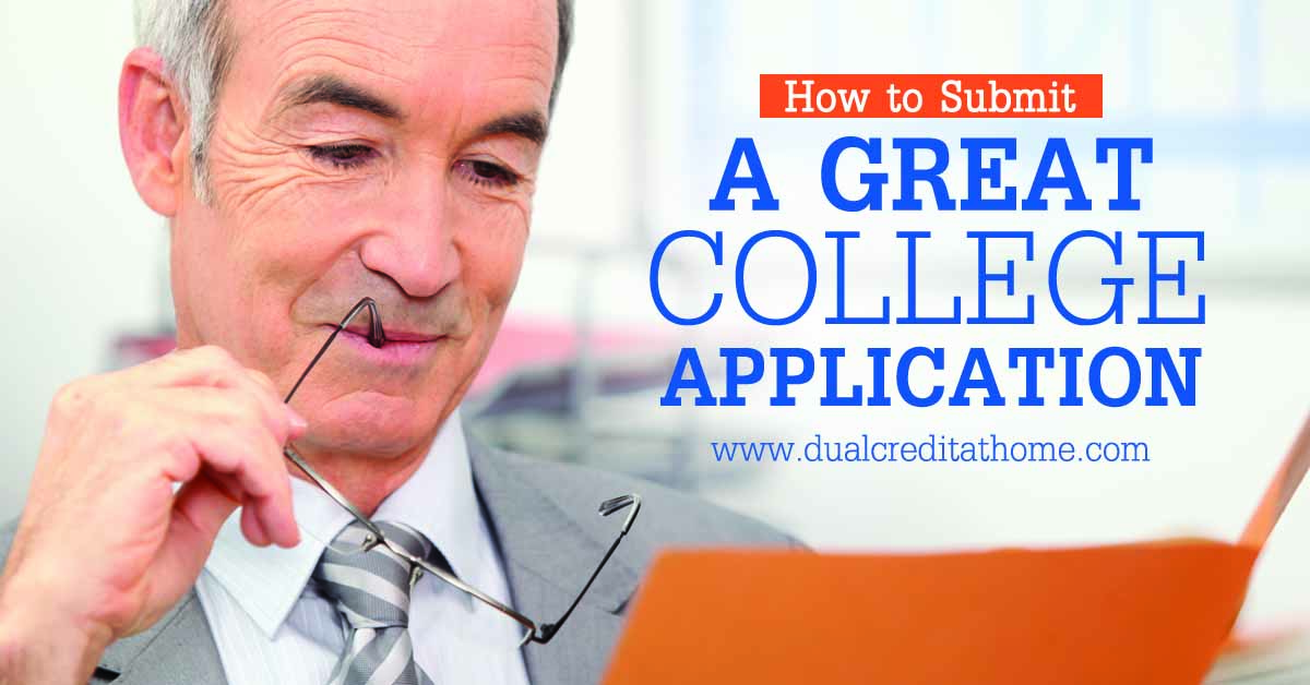How to Build a Great College Application For a Traditional College Degree