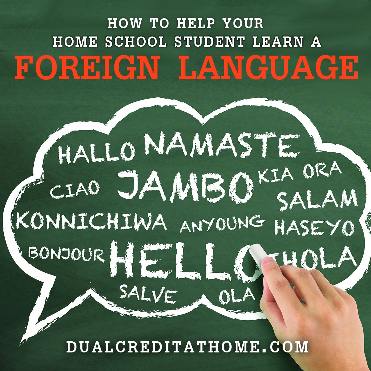 How to Help Your Home School Student Learn a New Language This Semester
