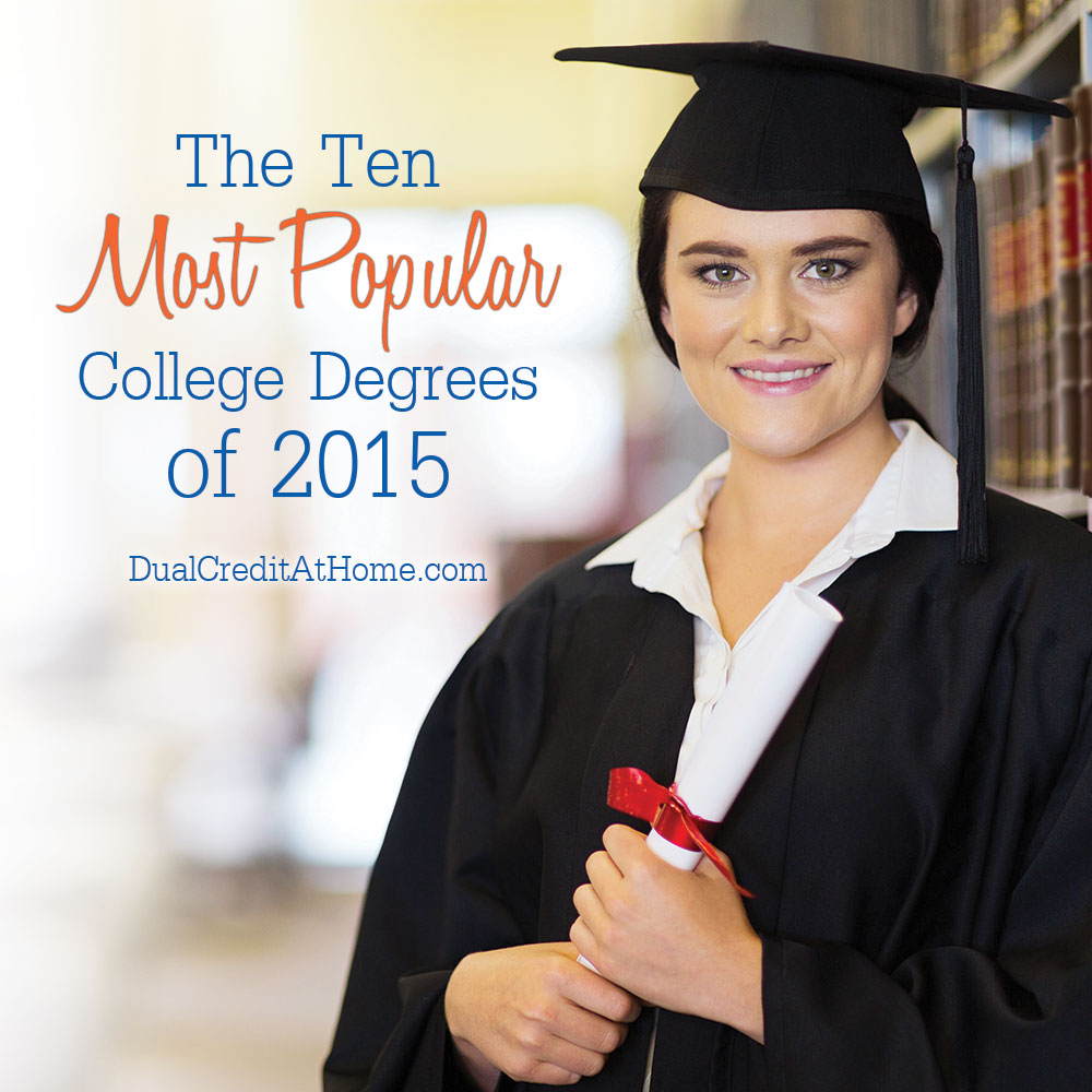The Ten Most Popular College Degrees of 2015