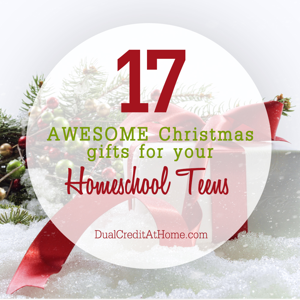 17 Awesome Christmas Gifts For Your Homeschool Teens