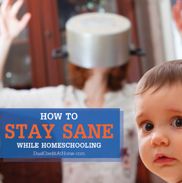 How to Keep Yourself Sane While Homeschooling