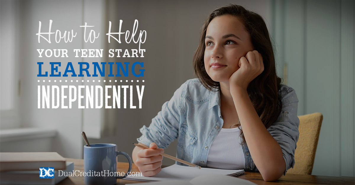 How to Help Your Homeschool Teen Start Learning Independently