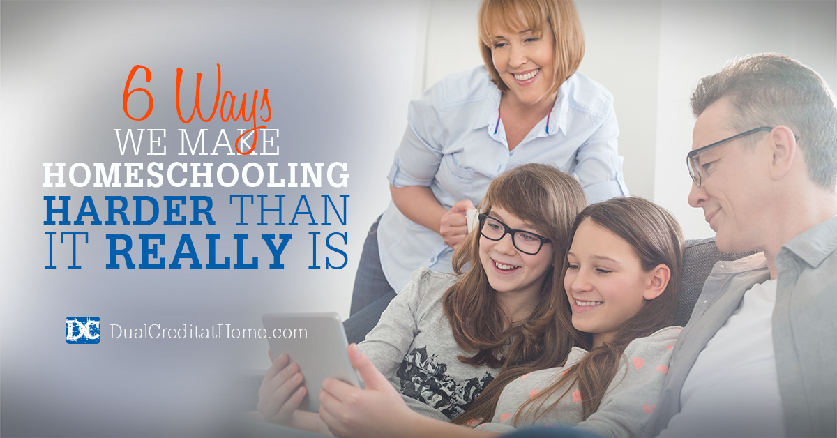 Six Ways We Make Homeschooling Harder Than It Really Is