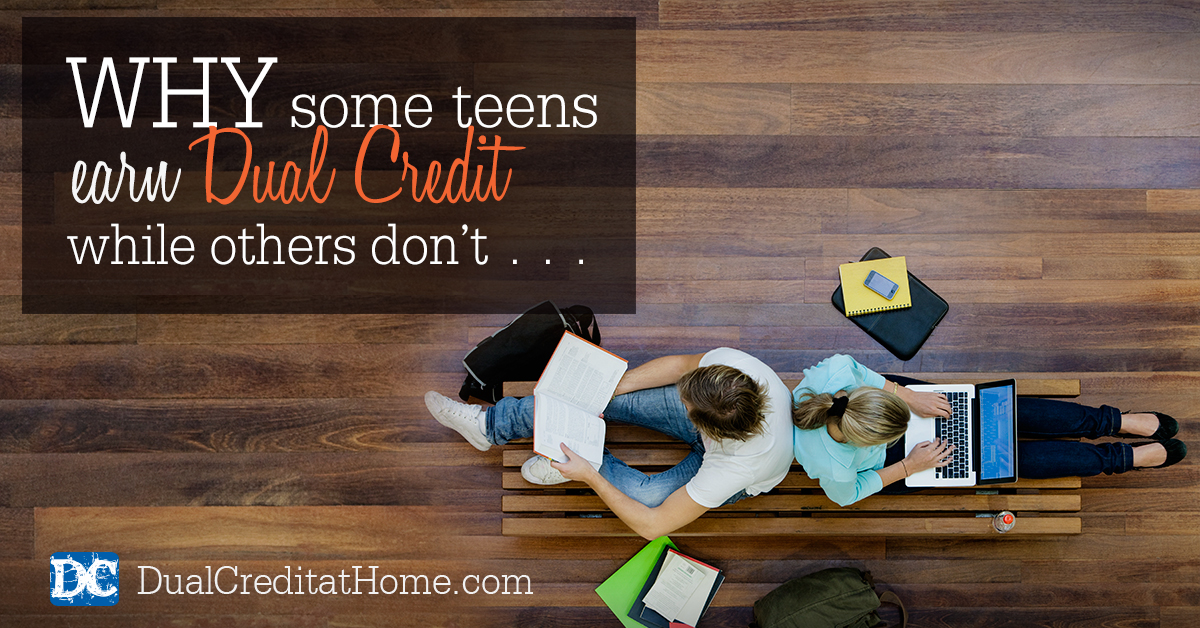 Why Some Teens Earn Dual Credit and Others Don't