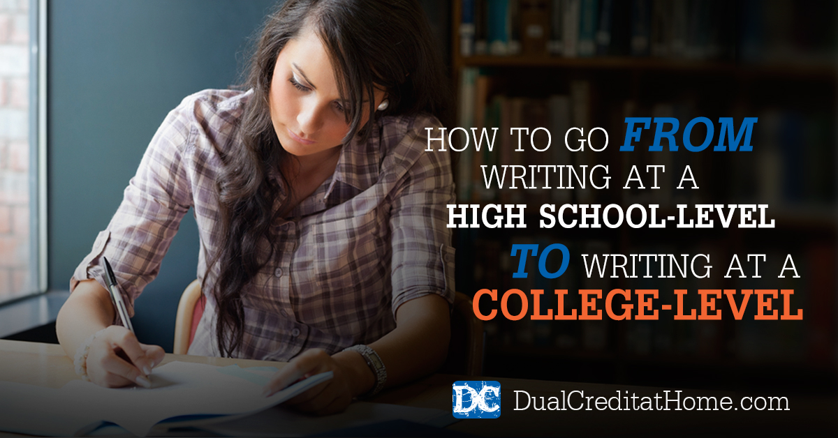 How to write a high school level essay