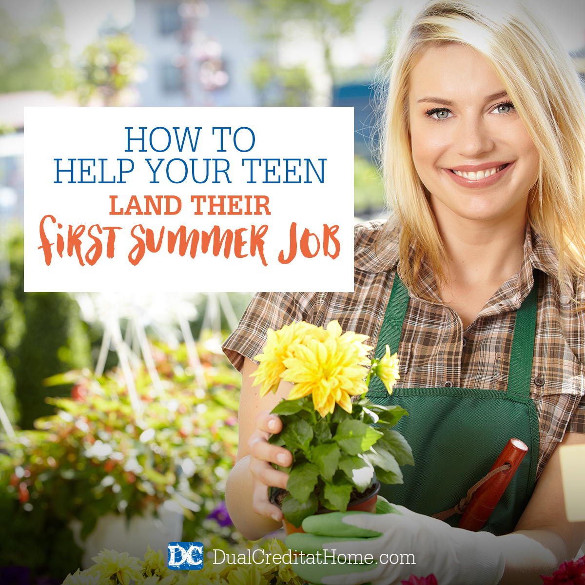 How To Help Your Teen Land Their First Summer Job