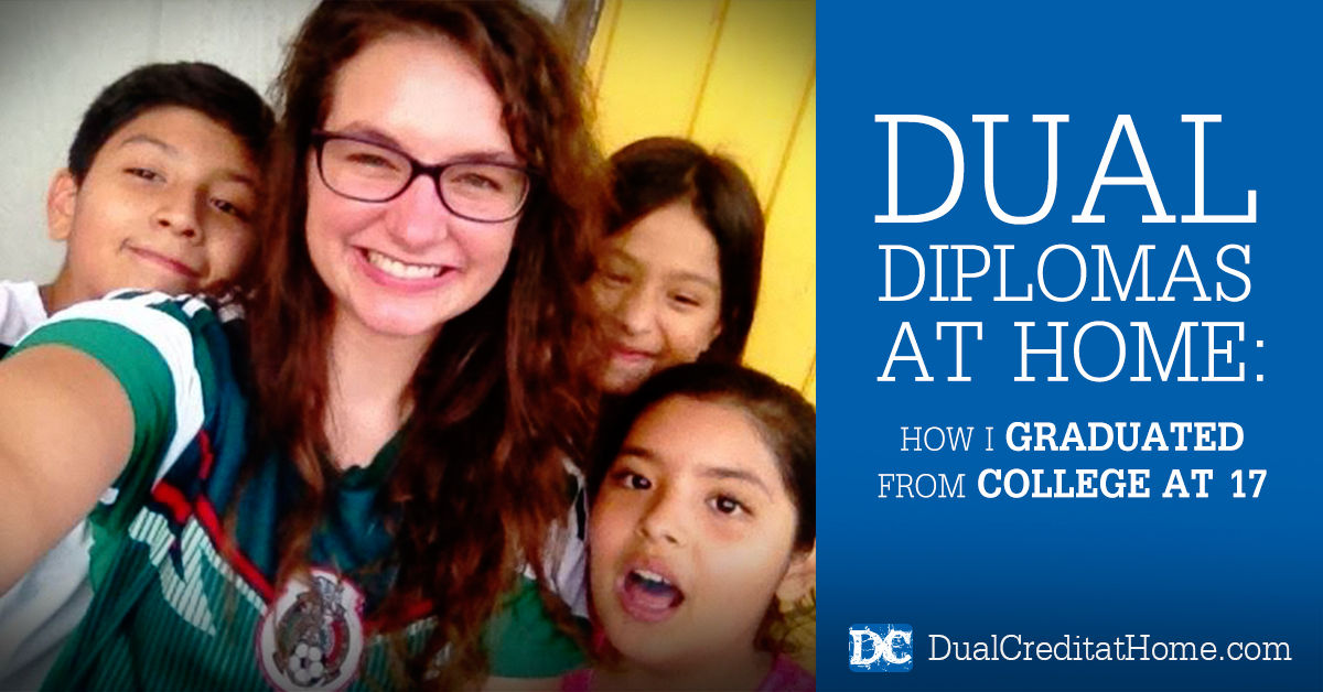 Dual Diplomas at Home: How I Just Graduated From College at 17