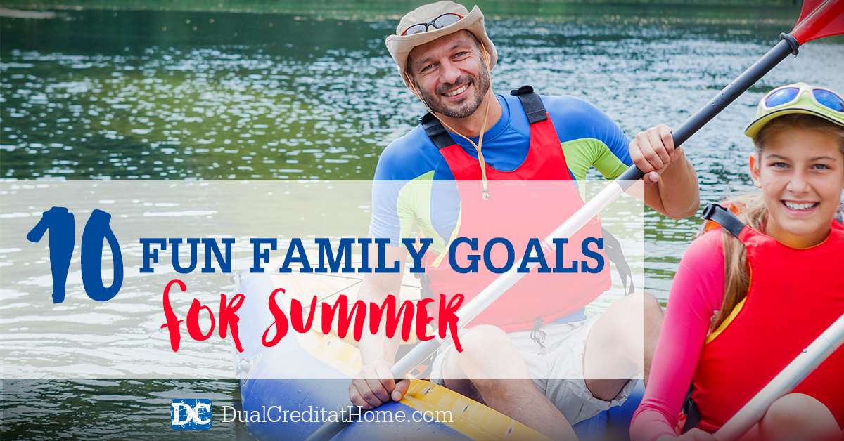10 Ideas for Fun Family Goals this Summer