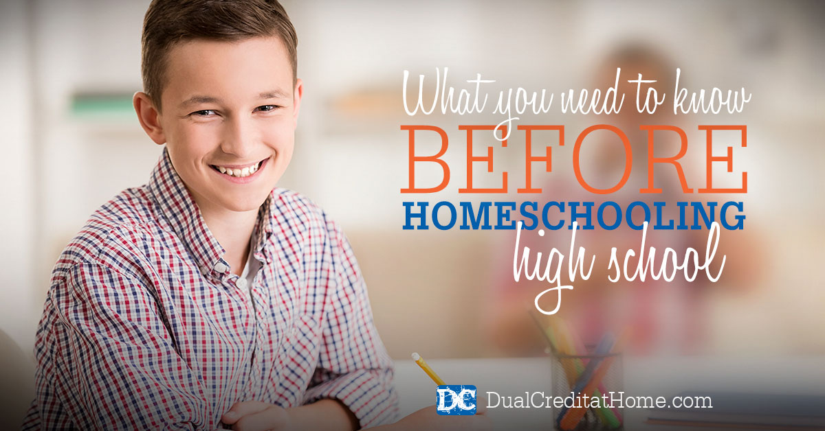 What You Need to Know Before Homeschooling High School
