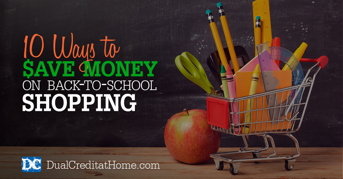 Ten Ways to Save Money on Your Family's Back to School Shopping