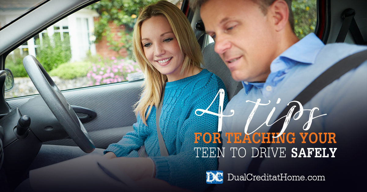 4 Tips for Teaching Your Teen to Drive Safely