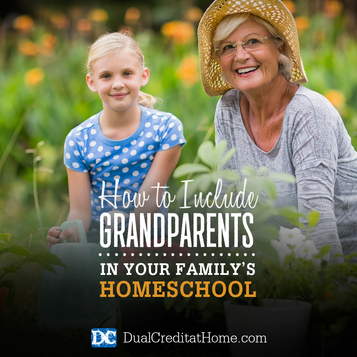 How to Include Grandparents in Your Family's Homeschool