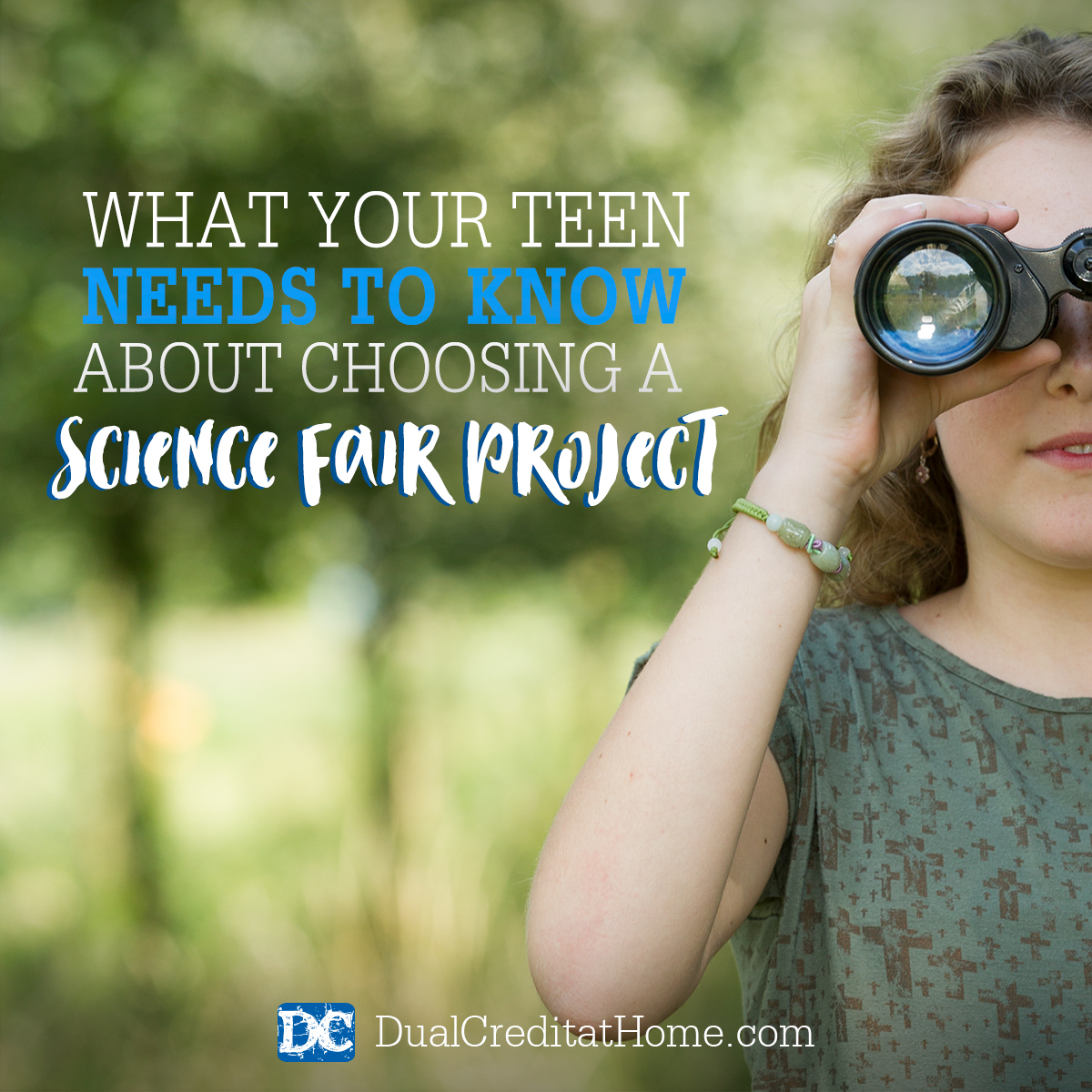 What Your Teen Needs to Know About Choosing a Science Fair Topic