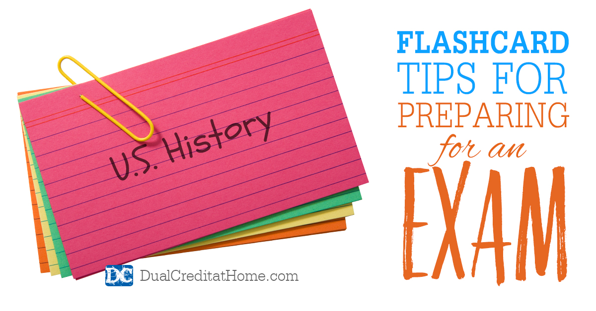 Flashcard Tips for Preparing for an Exam