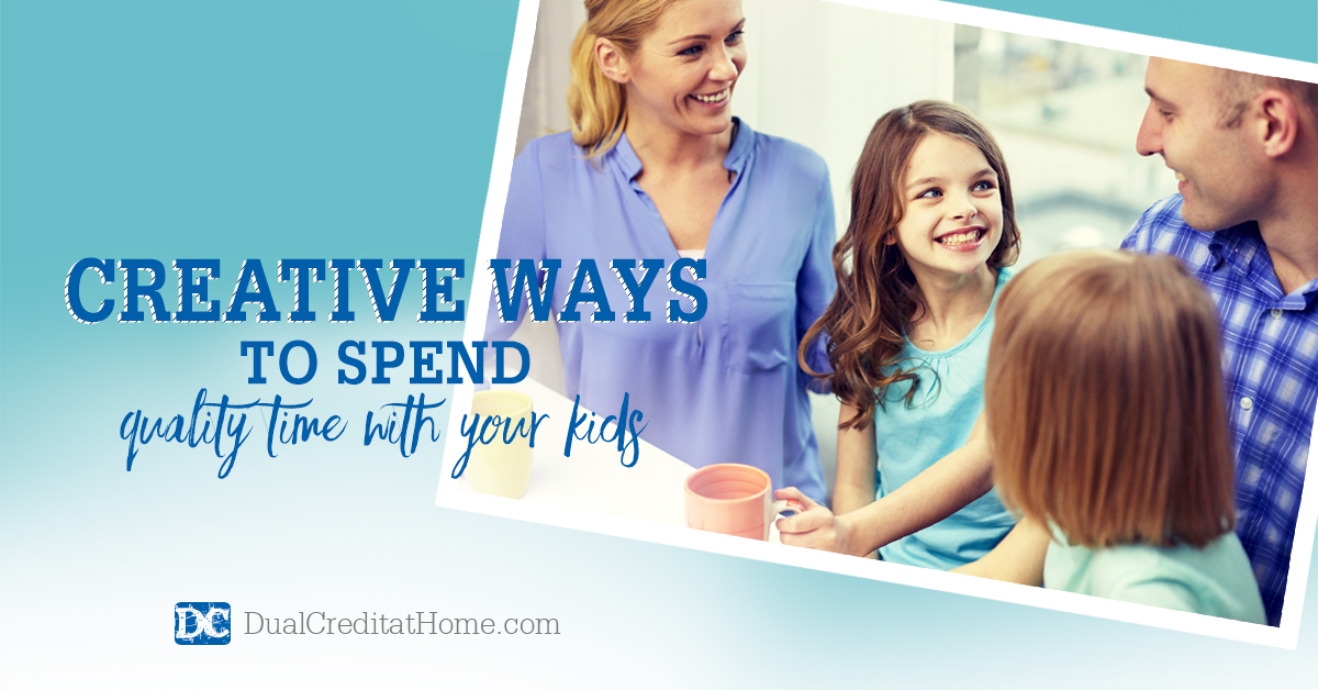 Creative Ways to Spend Quality Time with Your Kids