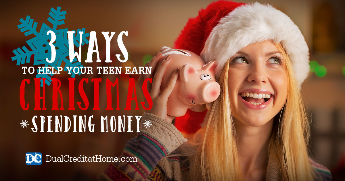 3 Ways to Help Your Teen Earn Christmas Spending Money