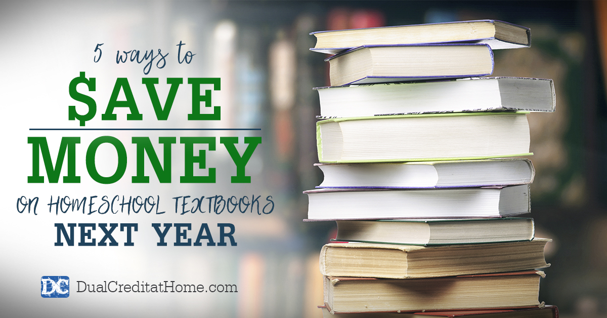 5 Ways to Save Money on Homeschool Textbooks Next Year