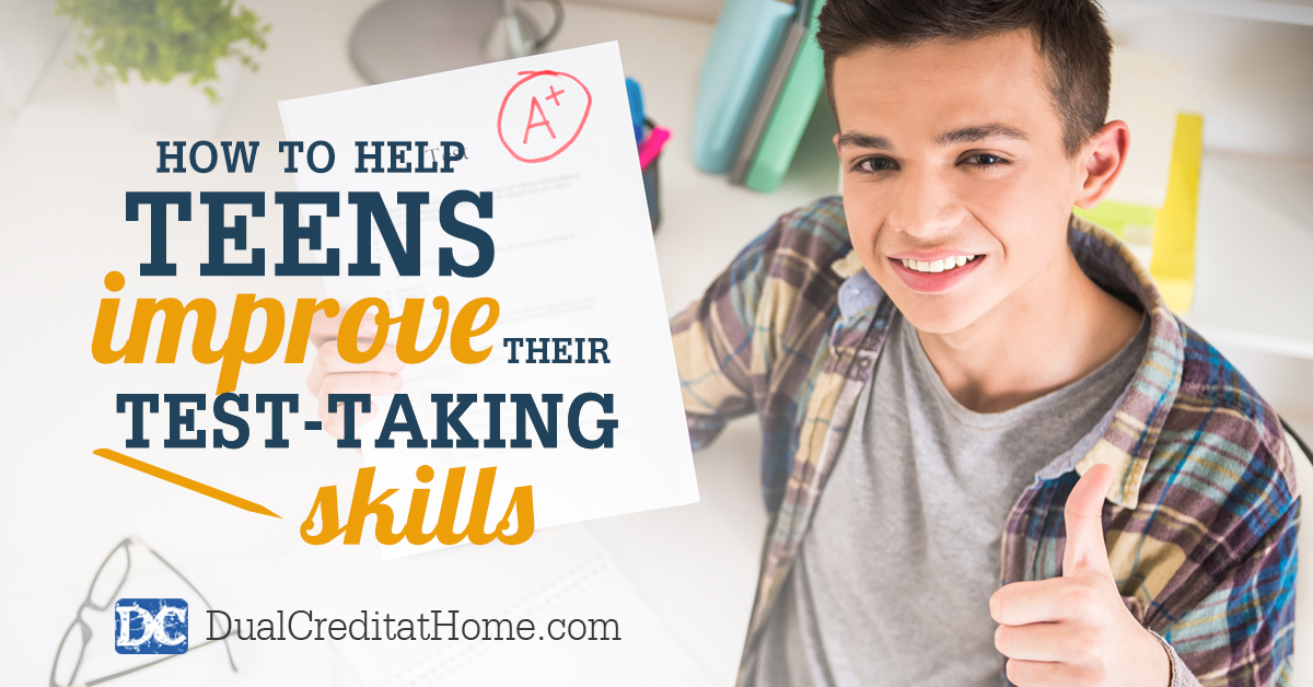 How to Help Teens Improve Their Test-Taking Skills
