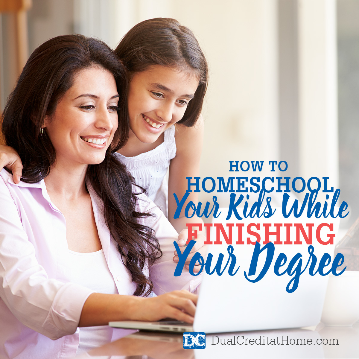 How to Homeschool Your Kids While Finishing Your Degree