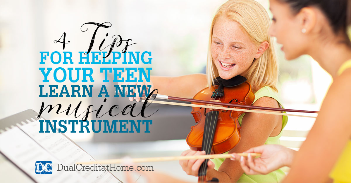 4 Tips for Helping Your Teen Learn a New Musical Instrument
