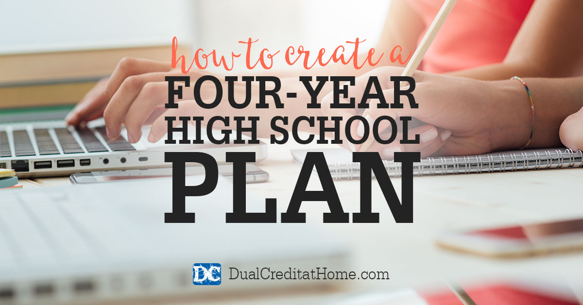 How to Create a Four-Year High School Plan