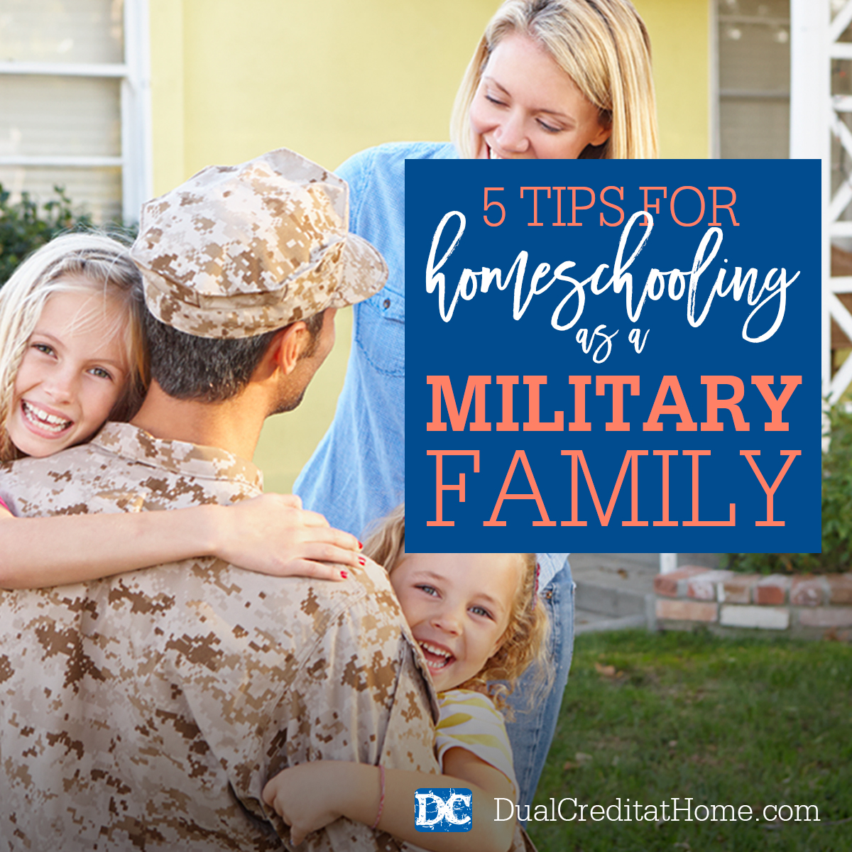 5 Tips for Homeschooling as a Military Family