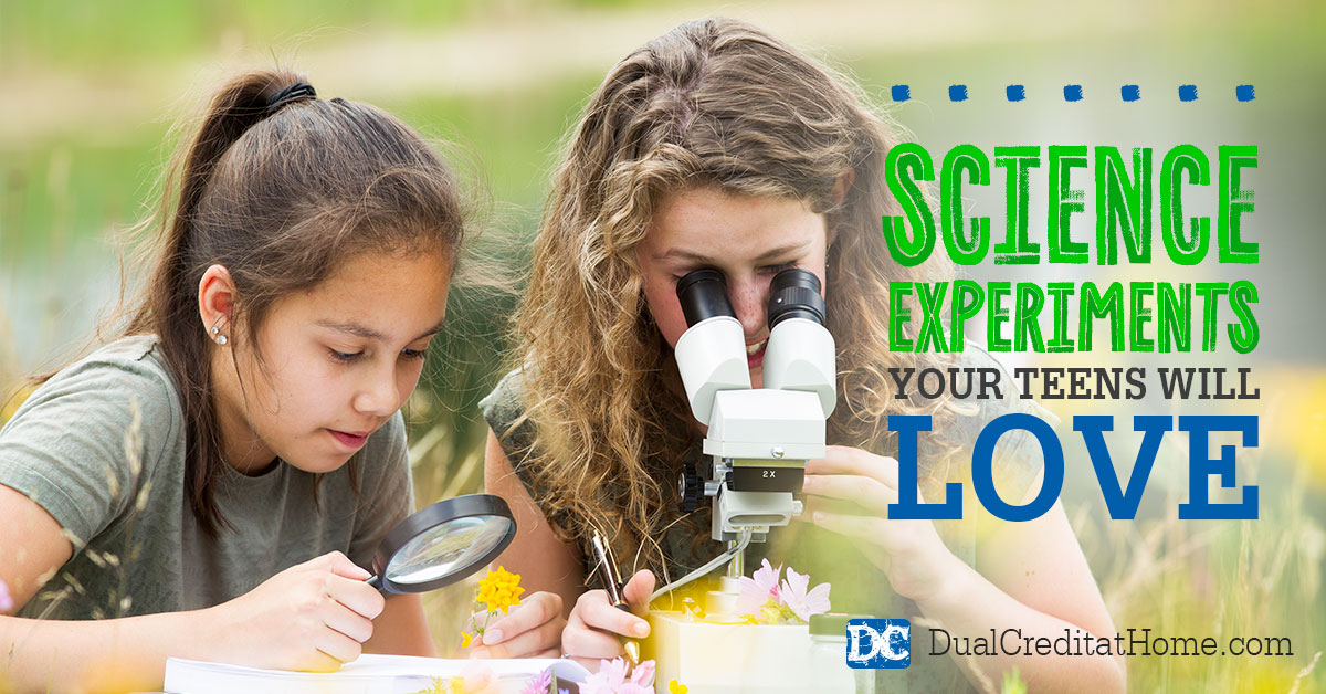Science Experiments Your Teens will Love