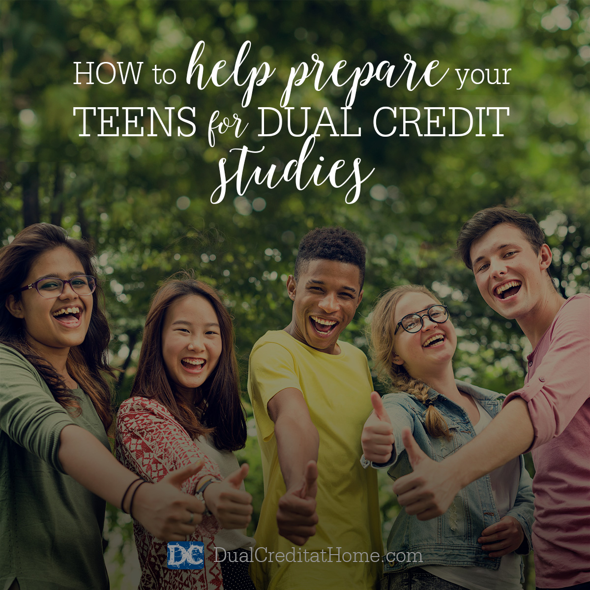 How to Help Prepare Your Teens for Dual Credit Studies