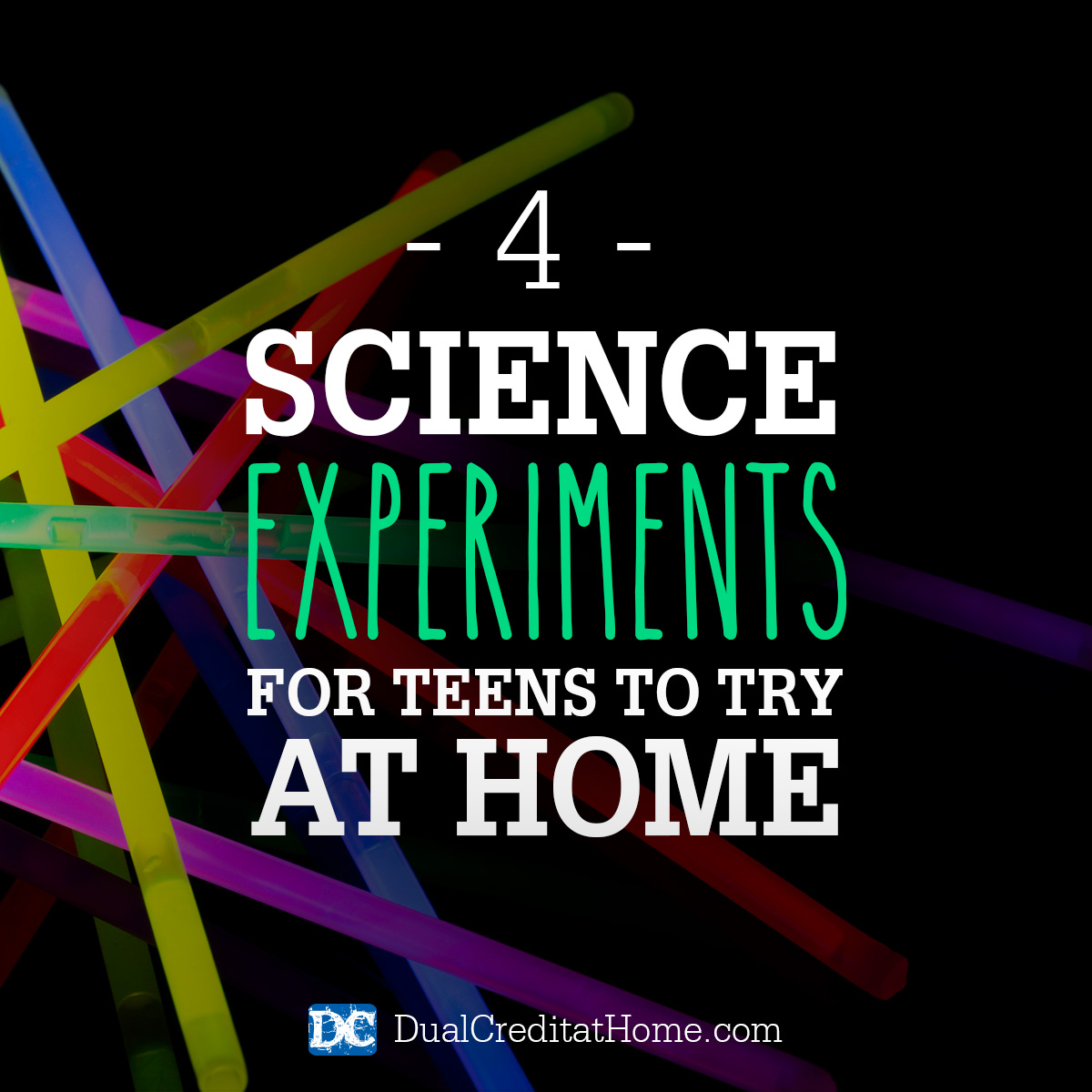 Four Science Experiments for Teens to Try at Home