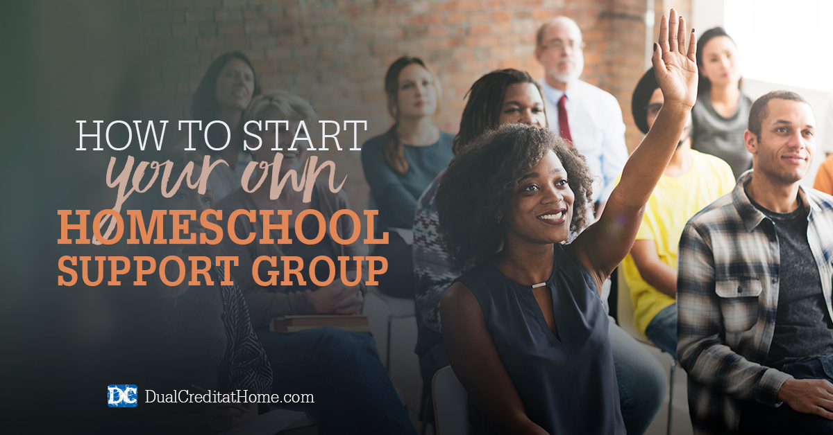 How to Start Your Own Homeschool Support Group