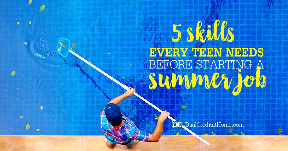 5 Skills Every Teen Needs Before Starting a Summer Job