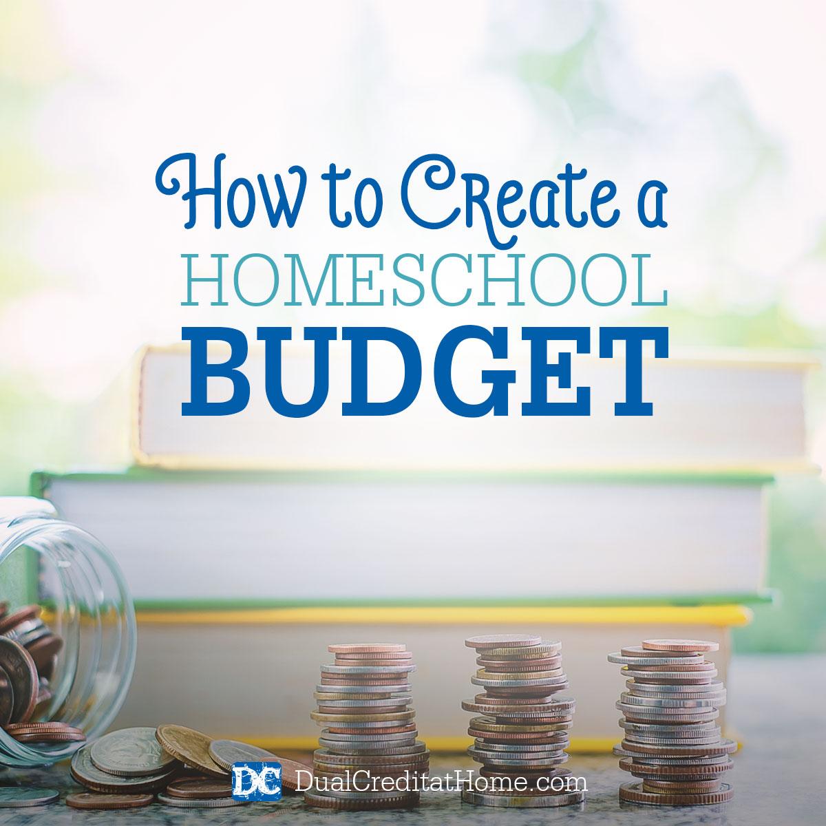 How to Create a Homeschool Budget