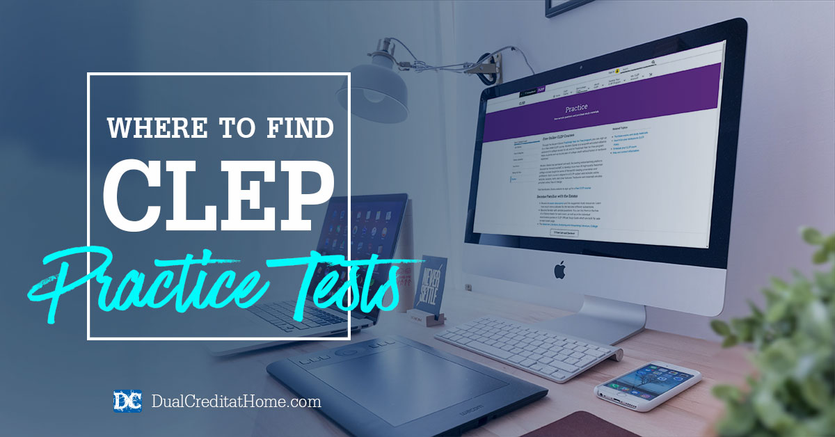 Where to Find CLEP Practice Tests