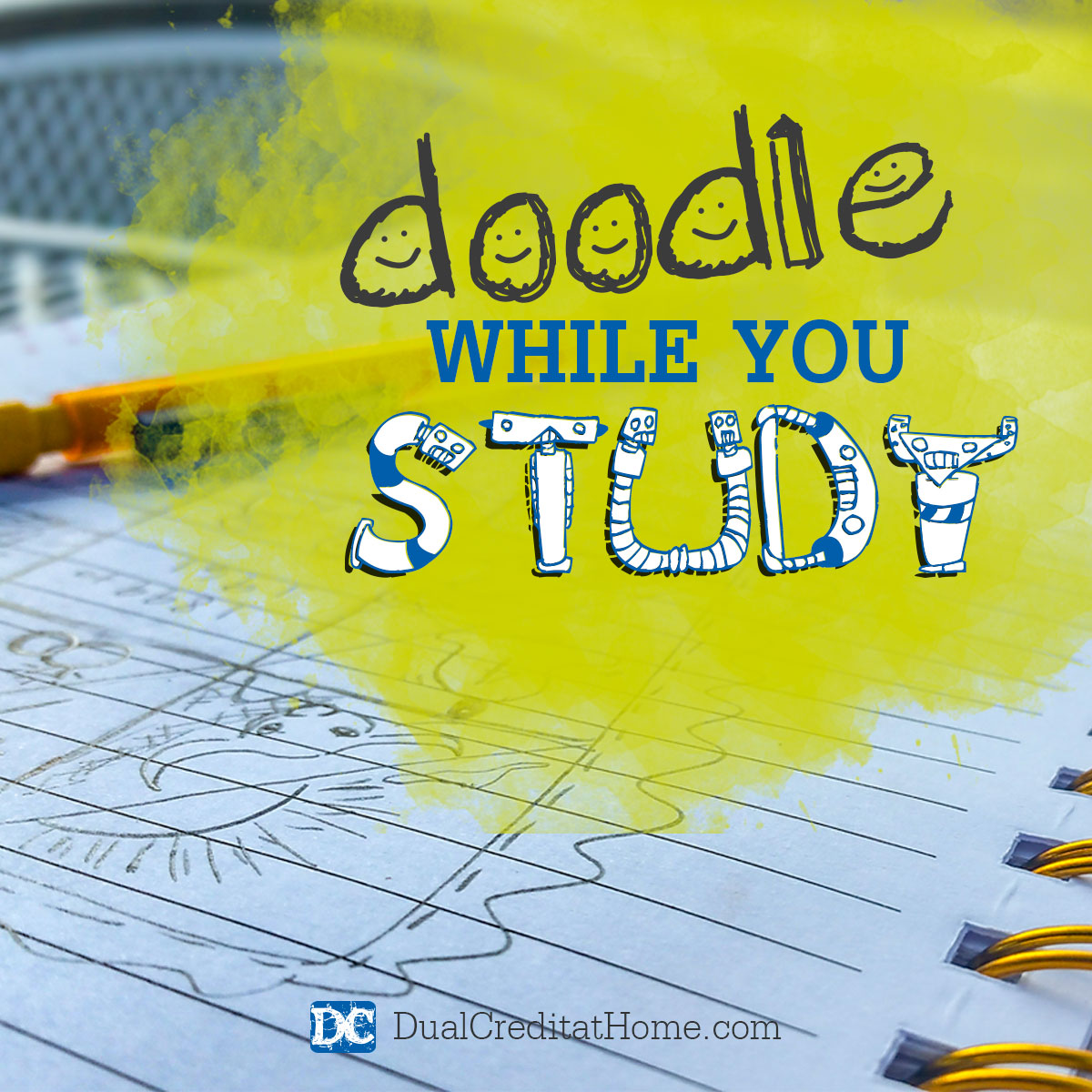 Doodle While You Study