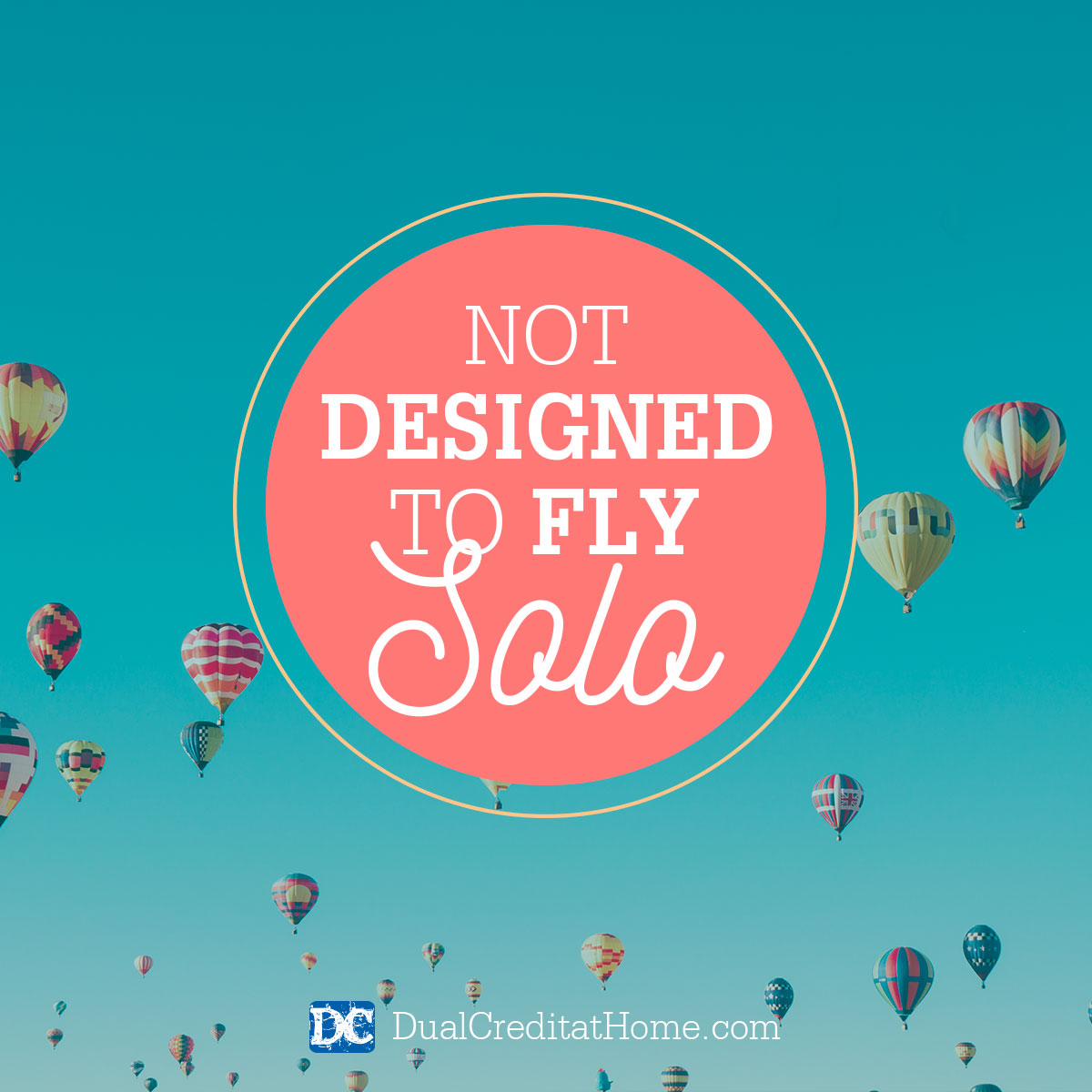 Not Designed to Fly Solo