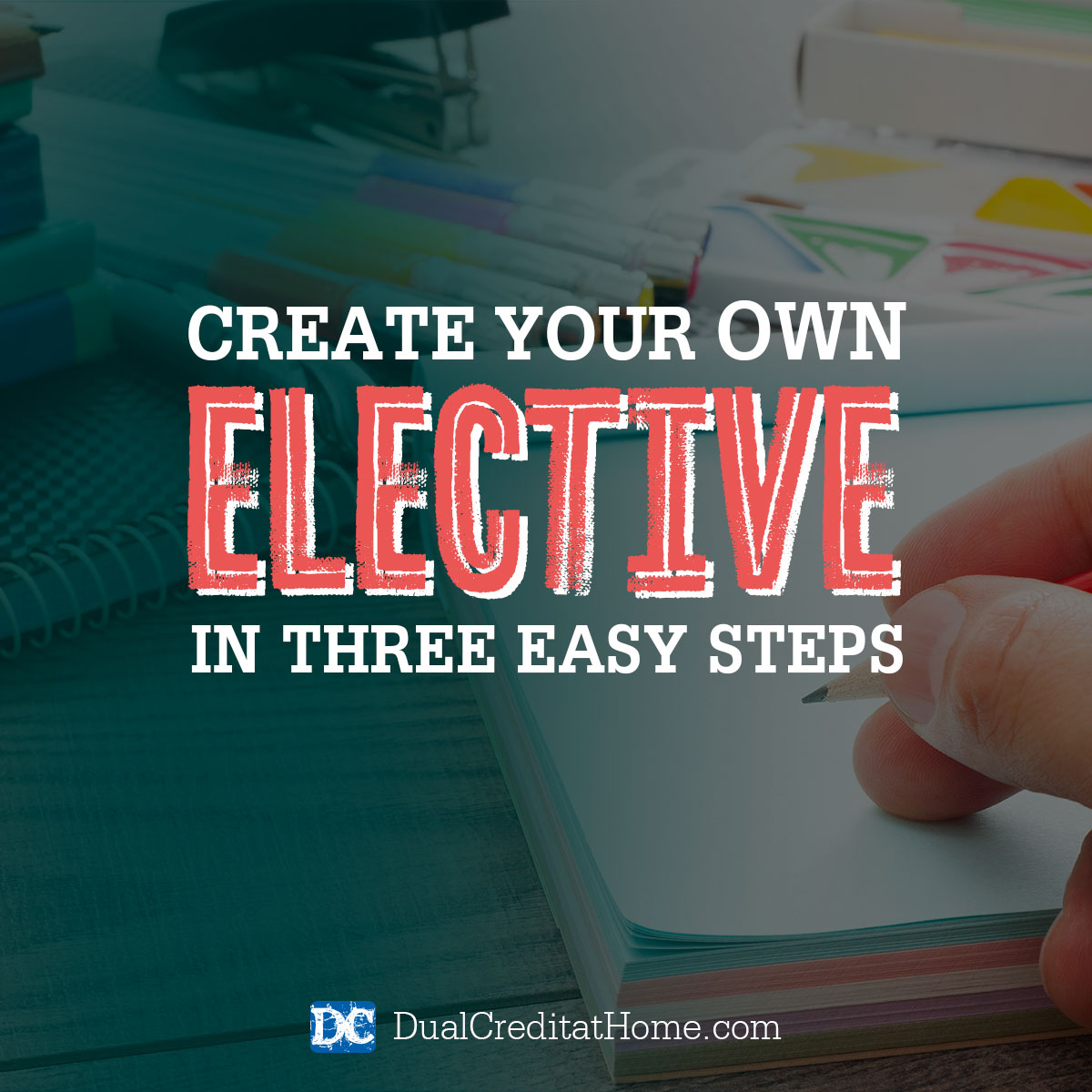 Creating Your Own Elective In 3 Simple Steps