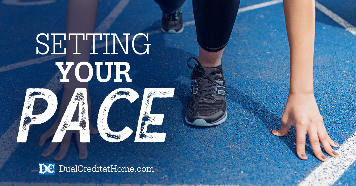 Setting Your Pace