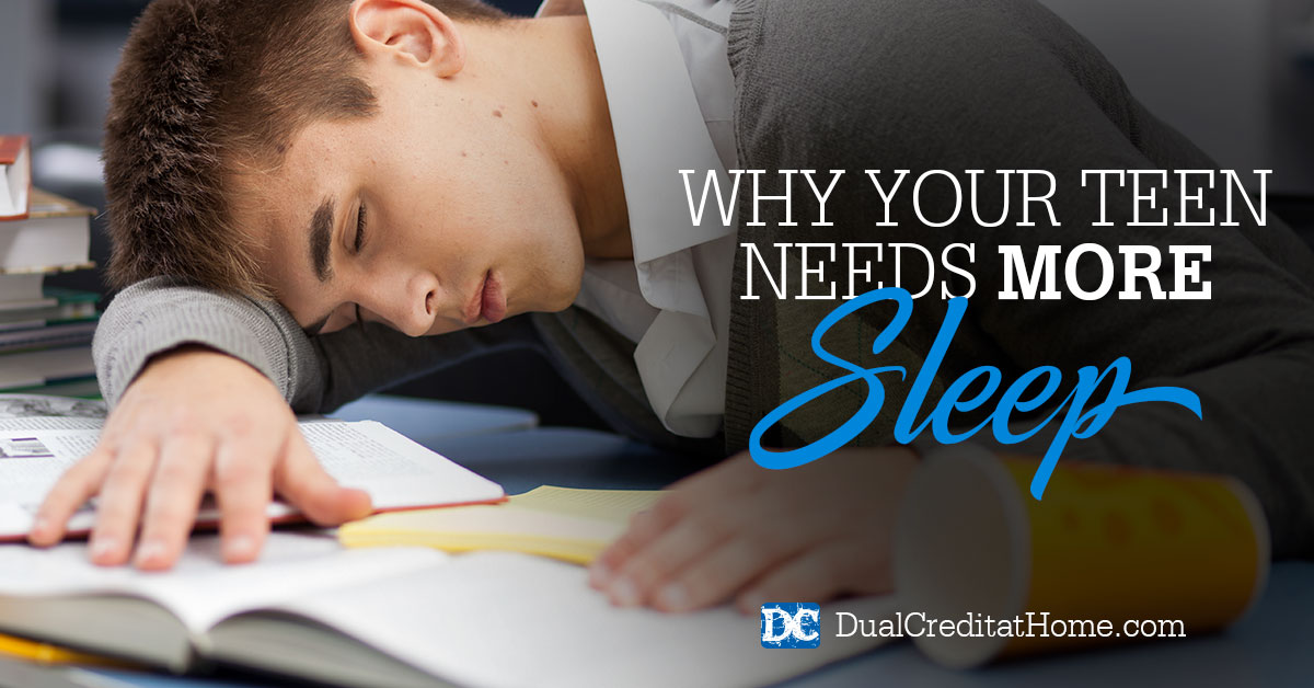 Why Your Teen Needs More Sleep