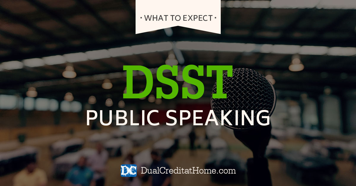 Principles of Public Speaking DSST Exam: What to Expect