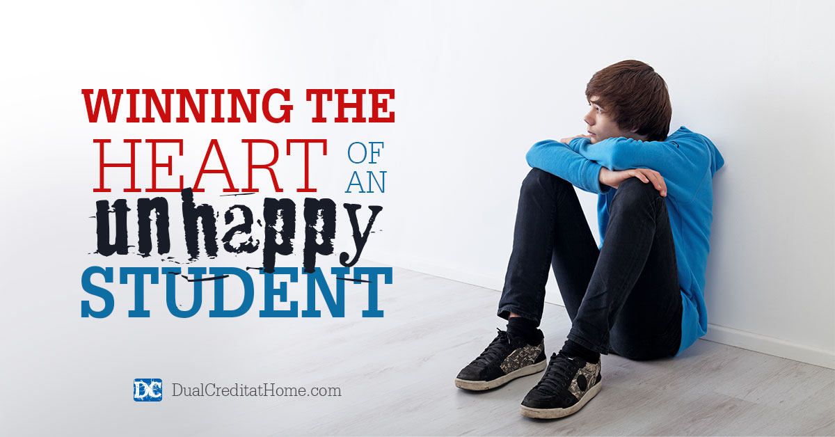 Winning the Heart of an Unhappy Student