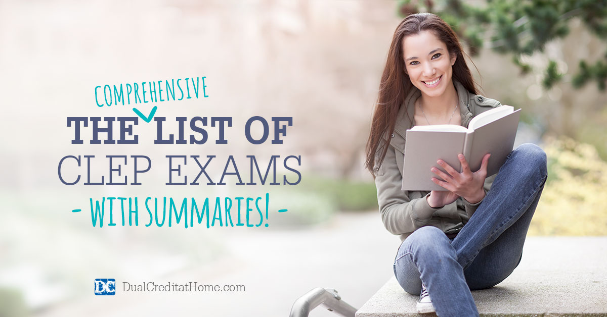 The Comprehensive List of CLEP Exams with Summaries