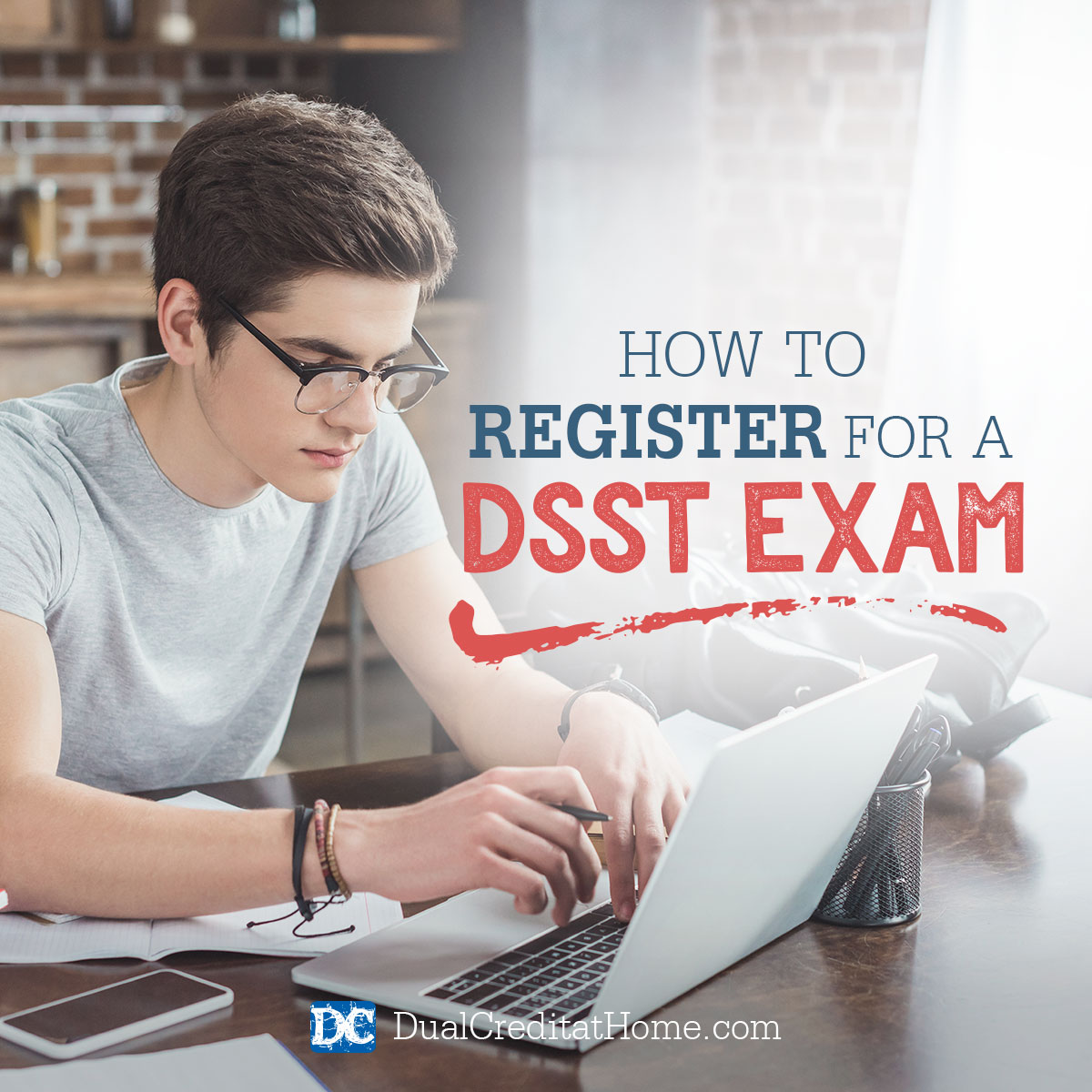 How to Register for a DSST Exam