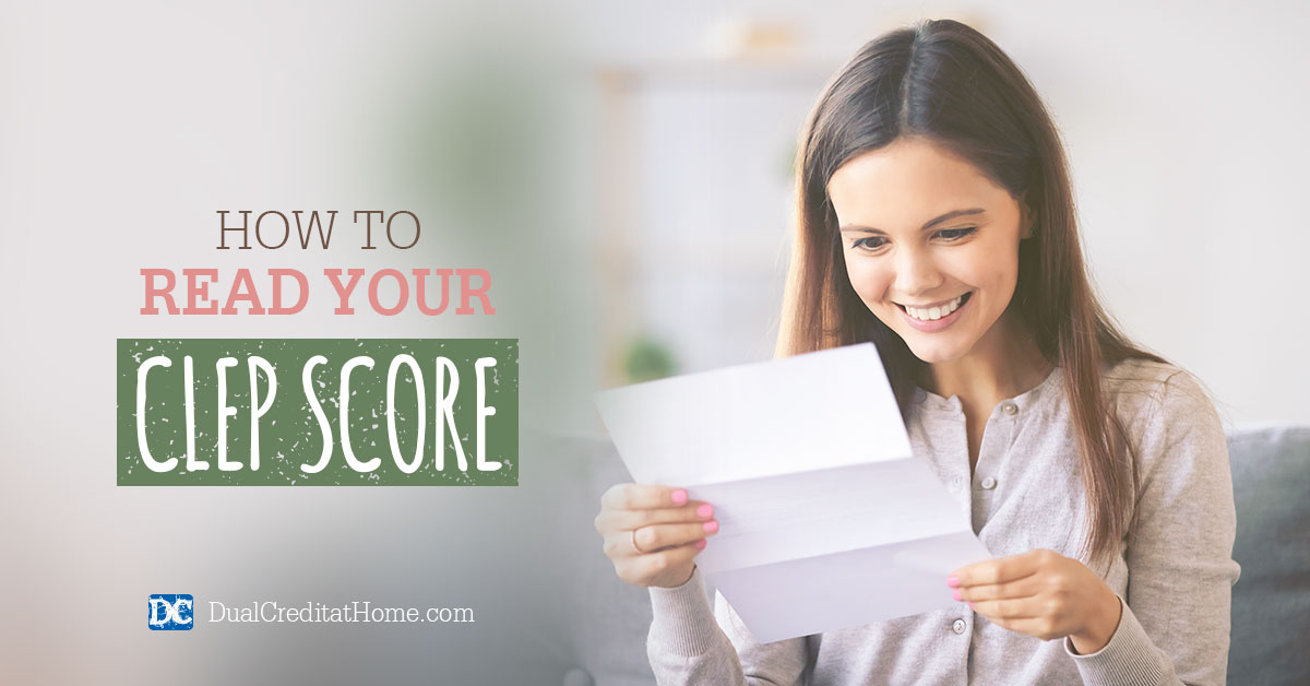 How to Read Your CLEP Score