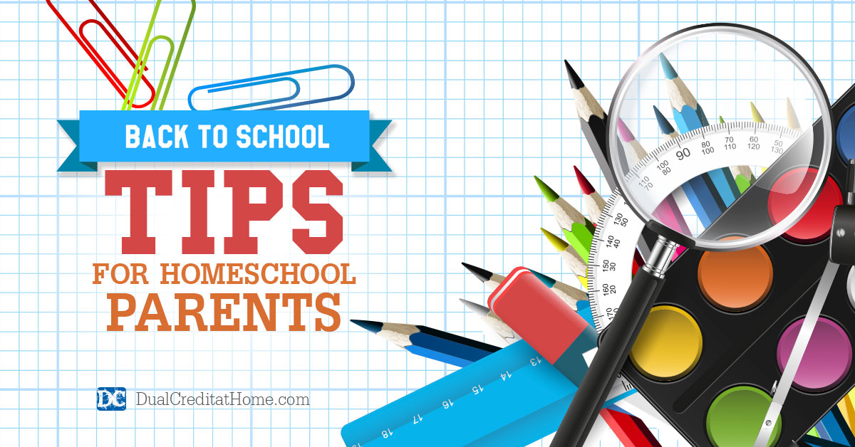Back to School Tips for Homeschool Parents
