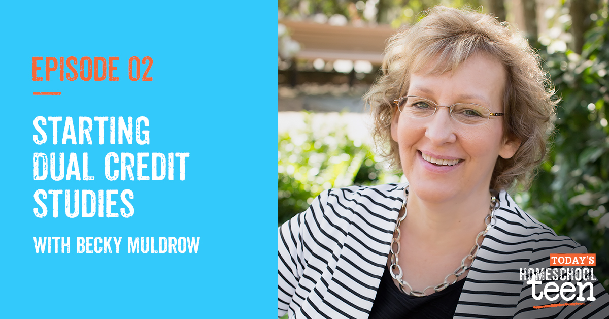 Episode 2: Starting Dual Credit Studies with Becky Muldrow