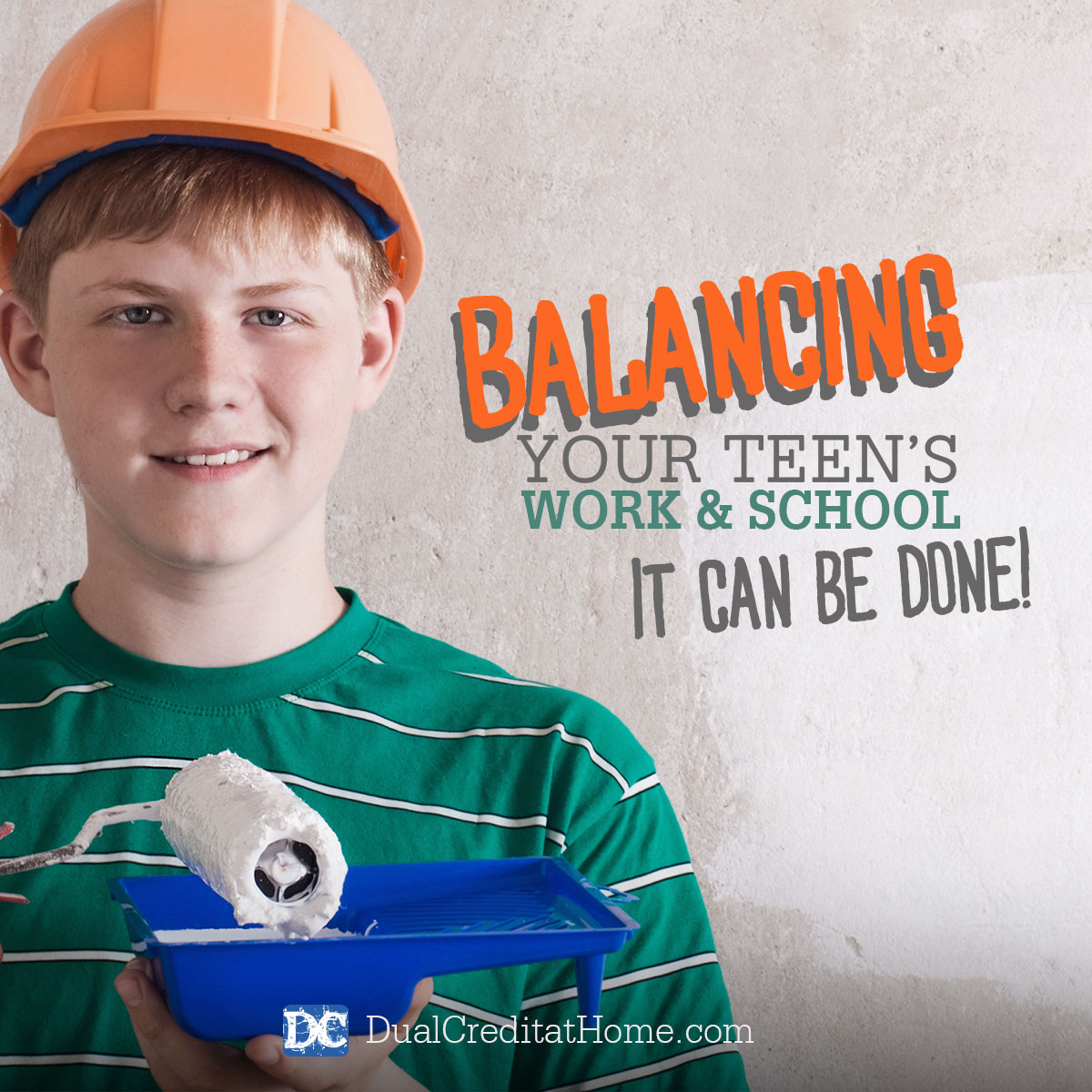 Balancing Your Teen's Work and School - It CAN Be Done!