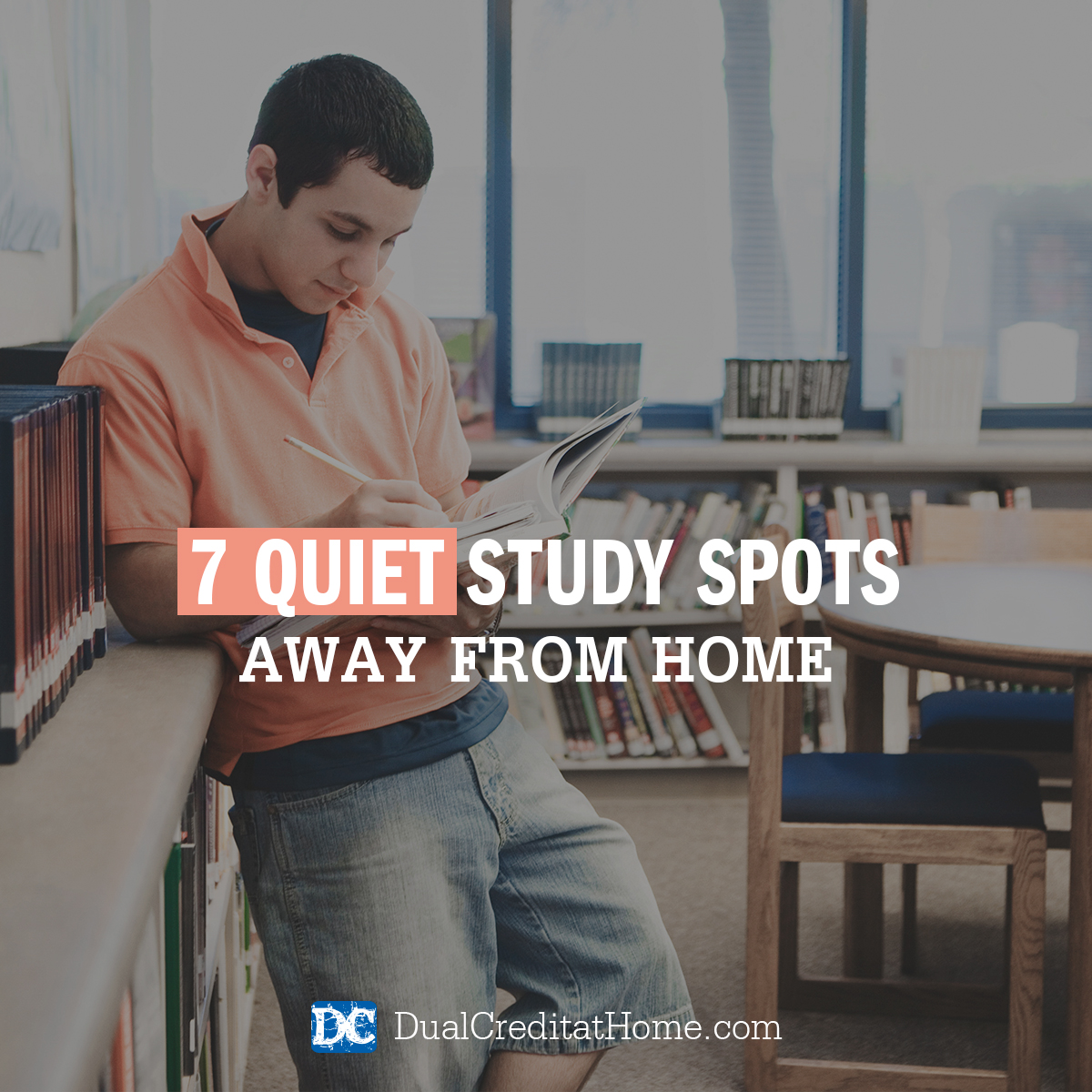 7 Quiet Study Spots Away from Home
